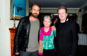 Gerard Butler, John Flanagan and Tracy Edwards